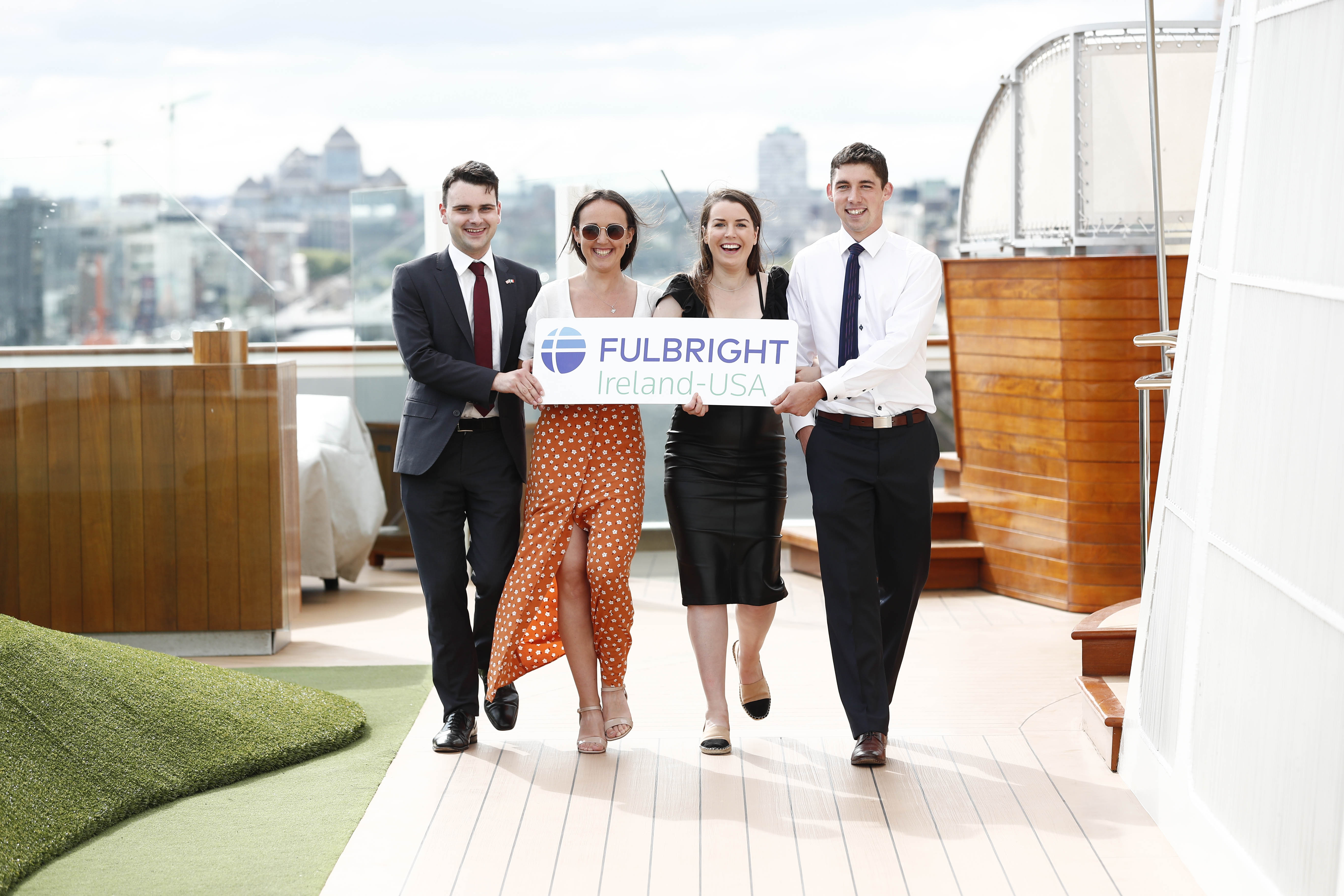 Fulbright Scholars get ready to set sail on the The World!